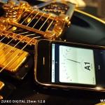 iPhone ギターチューナー