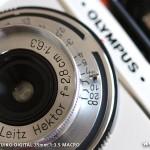 オリンパスPEN E-P1 試し撮り-Leitz Hektor 28mm