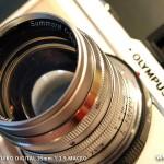 オリンパスPEN E-P1 試し撮り-Leitz Summarit 50mm