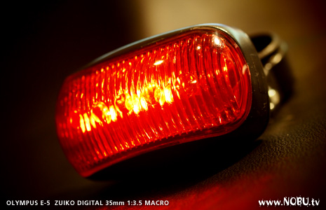 100円の自転車用LEDバックライト
