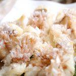 甘鯛の素揚げ(ウロコ付き)