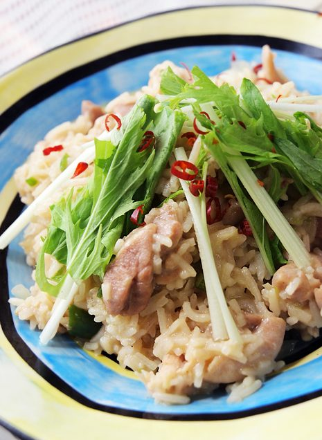 タイ米のリゾット
