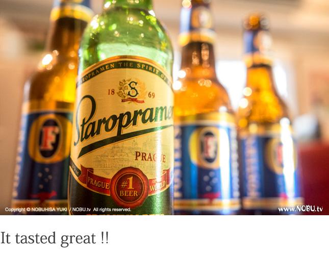 ビールは明日への活力!