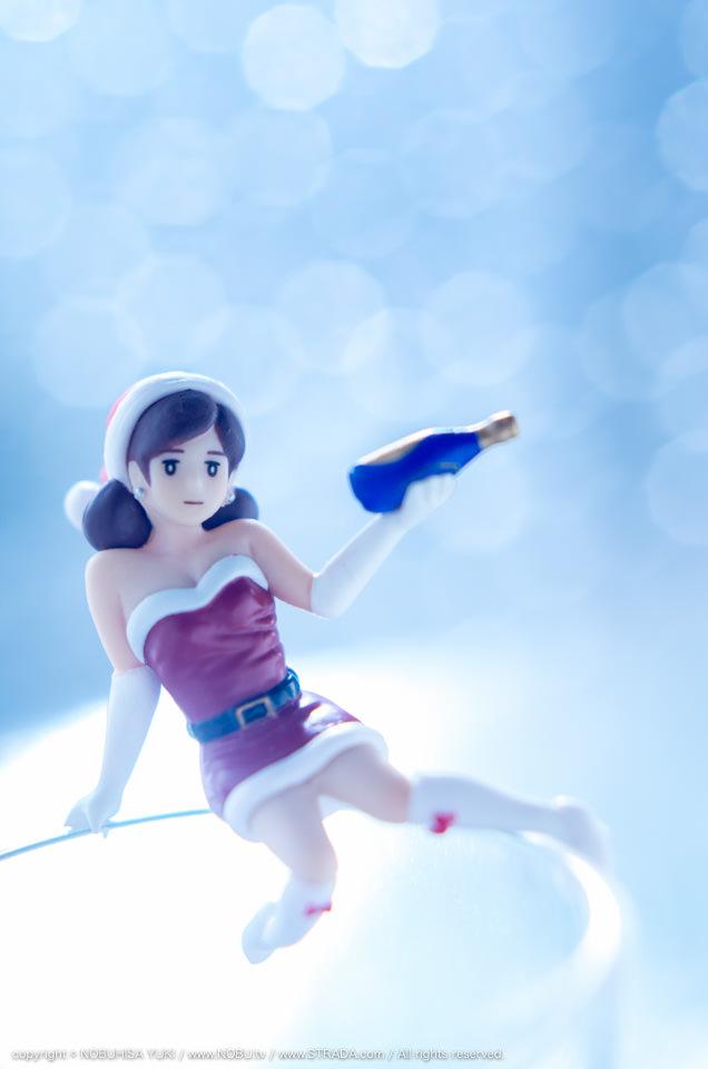 NOBU.tv / コップのフチ子 クリスマス