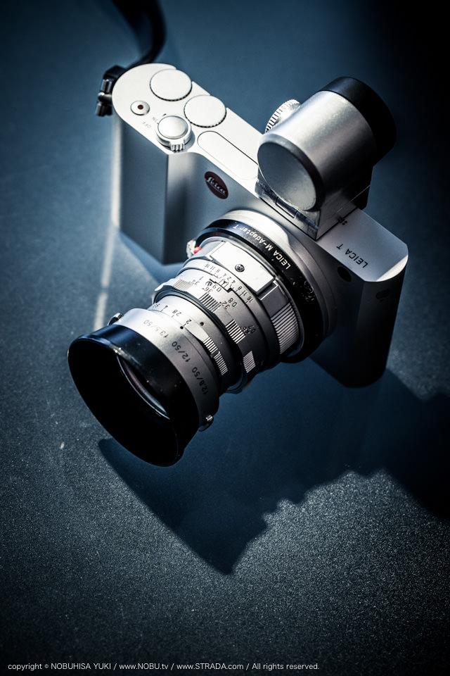 Leica T / Visoflex silver paint