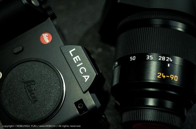 Leica SL ファインダー色かぶり