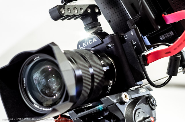 LEICA SL で動画