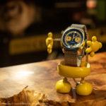 ロボットな時計スタンド